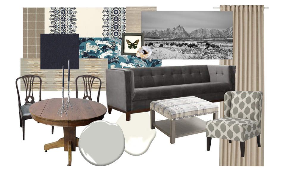 Neutral Living Dining Si and Oui 2