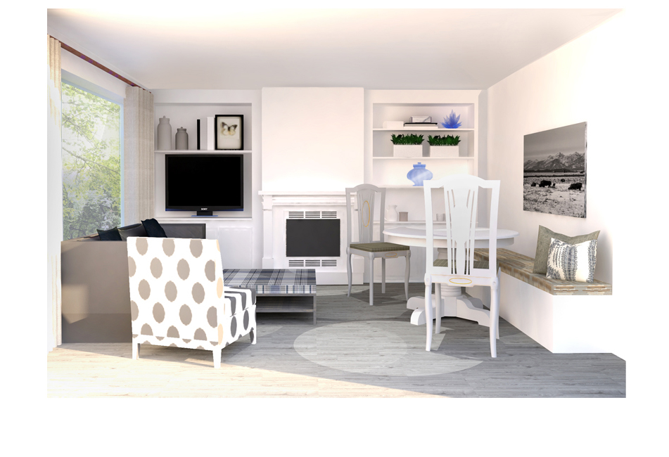 Neutral Living Dining Si and Oui 7