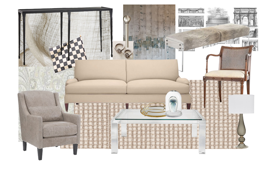 Neutral Living Room Si and Oui 10
