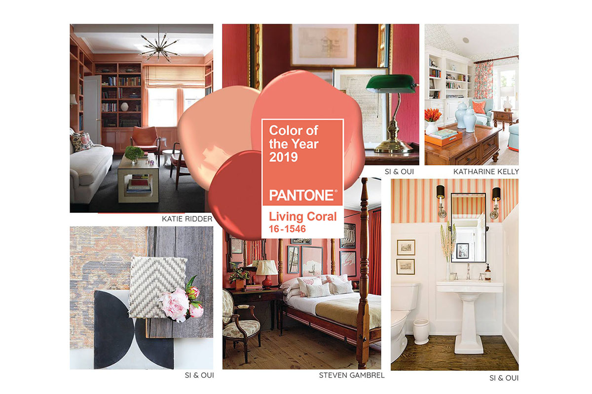Color Inspirations: Living Coral  Pantone 16-1546